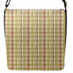Tomboy Line Yellow Red Flap Messenger Bag (s) by Alisyart