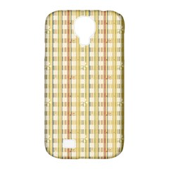 Tomboy Line Yellow Red Samsung Galaxy S4 Classic Hardshell Case (pc+silicone) by Alisyart