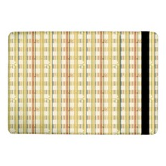 Tomboy Line Yellow Red Samsung Galaxy Tab Pro 10 1  Flip Case by Alisyart