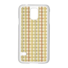 Tomboy Line Yellow Red Samsung Galaxy S5 Case (white) by Alisyart