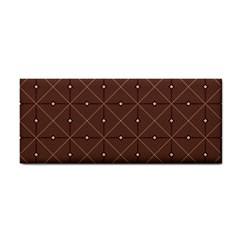 Coloured Line Squares Plaid Triangle Brown Line Chevron Cosmetic Storage Cases