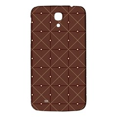 Coloured Line Squares Plaid Triangle Brown Line Chevron Samsung Galaxy Mega I9200 Hardshell Back Case