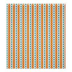 Sunflower Orange Gold Blue Floral Shower Curtain 66  X 72  (large)  by Alisyart