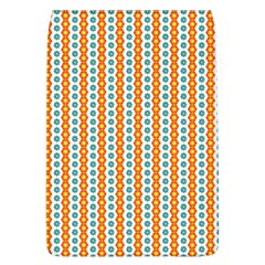 Sunflower Orange Gold Blue Floral Flap Covers (l)  by Alisyart