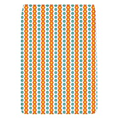Sunflower Orange Gold Blue Floral Flap Covers (s)  by Alisyart