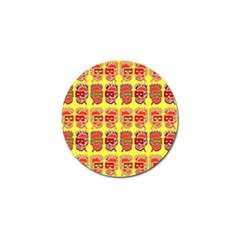 Funny Faces Golf Ball Marker (10 Pack) by Amaryn4rt