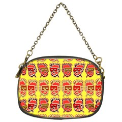 Funny Faces Chain Purses (one Side)  by Amaryn4rt