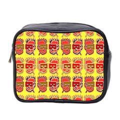 Funny Faces Mini Toiletries Bag 2 Side by Amaryn4rt