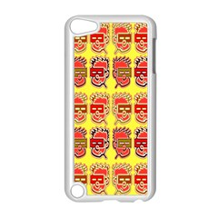Funny Faces Apple Ipod Touch 5 Case (white) by Amaryn4rt