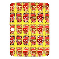 Funny Faces Samsung Galaxy Tab 3 (10 1 ) P5200 Hardshell Case  by Amaryn4rt