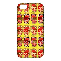 Funny Faces Apple Iphone 5c Hardshell Case by Amaryn4rt