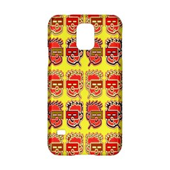 Funny Faces Samsung Galaxy S5 Hardshell Case  by Amaryn4rt