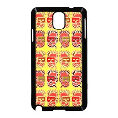Funny Faces Samsung Galaxy Note 3 Neo Hardshell Case (black) by Amaryn4rt