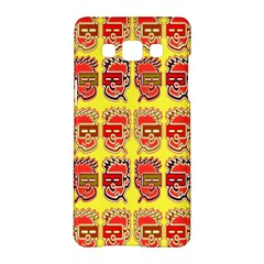 Funny Faces Samsung Galaxy A5 Hardshell Case  by Amaryn4rt