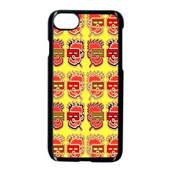 Funny Faces Apple Iphone 7 Seamless Case (black) by Amaryn4rt