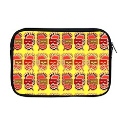 Funny Faces Apple Macbook Pro 17  Zipper Case by Amaryn4rt