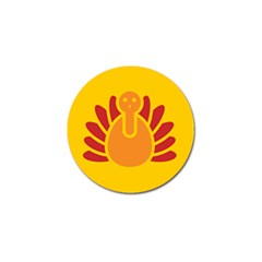 Animals Bird Pet Turkey Red Orange Yellow Golf Ball Marker (10 Pack) by Alisyart