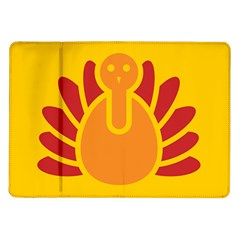 Animals Bird Pet Turkey Red Orange Yellow Samsung Galaxy Tab 10 1  P7500 Flip Case