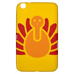 Animals Bird Pet Turkey Red Orange Yellow Samsung Galaxy Tab 3 (8 ) T3100 Hardshell Case  by Alisyart