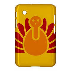 Animals Bird Pet Turkey Red Orange Yellow Samsung Galaxy Tab 2 (7 ) P3100 Hardshell Case  by Alisyart