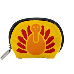 Animals Bird Pet Turkey Red Orange Yellow Accessory Pouches (small)  by Alisyart