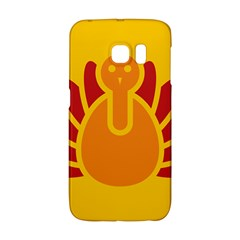 Animals Bird Pet Turkey Red Orange Yellow Galaxy S6 Edge by Alisyart