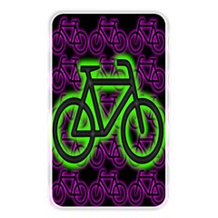 Bike Graphic Neon Colors Pink Purple Green Bicycle Light Memory Card Reader by Alisyart