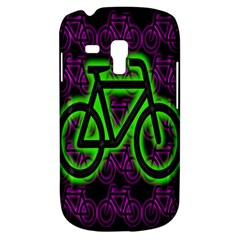 Bike Graphic Neon Colors Pink Purple Green Bicycle Light Galaxy S3 Mini by Alisyart