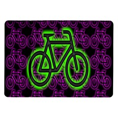 Bike Graphic Neon Colors Pink Purple Green Bicycle Light Samsung Galaxy Tab 10 1  P7500 Flip Case