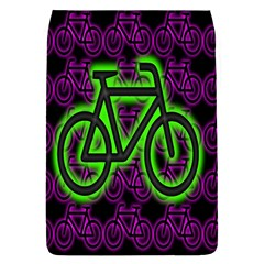 Bike Graphic Neon Colors Pink Purple Green Bicycle Light Flap Covers (s)