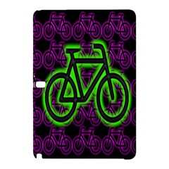Bike Graphic Neon Colors Pink Purple Green Bicycle Light Samsung Galaxy Tab Pro 10 1 Hardshell Case