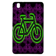 Bike Graphic Neon Colors Pink Purple Green Bicycle Light Samsung Galaxy Tab Pro 8 4 Hardshell Case