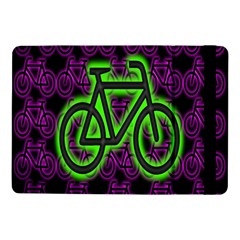 Bike Graphic Neon Colors Pink Purple Green Bicycle Light Samsung Galaxy Tab Pro 10 1  Flip Case by Alisyart