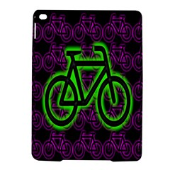Bike Graphic Neon Colors Pink Purple Green Bicycle Light Ipad Air 2 Hardshell Cases by Alisyart