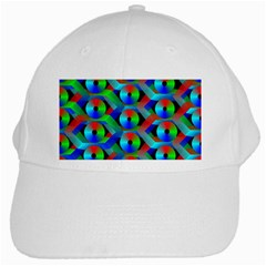 Bee Hive Color Disks White Cap by Amaryn4rt