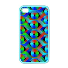 Bee Hive Color Disks Apple Iphone 4 Case (color) by Amaryn4rt