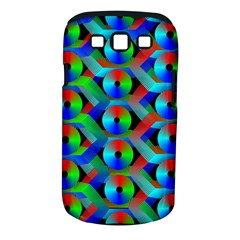 Bee Hive Color Disks Samsung Galaxy S Iii Classic Hardshell Case (pc+silicone) by Amaryn4rt