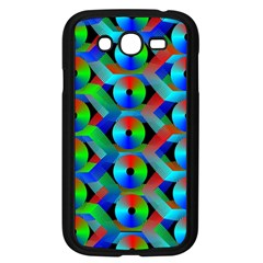 Bee Hive Color Disks Samsung Galaxy Grand Duos I9082 Case (black) by Amaryn4rt