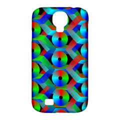 Bee Hive Color Disks Samsung Galaxy S4 Classic Hardshell Case (pc+silicone) by Amaryn4rt