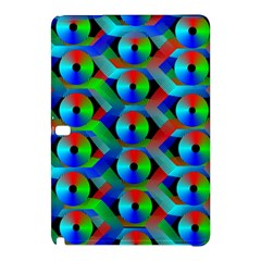 Bee Hive Color Disks Samsung Galaxy Tab Pro 10 1 Hardshell Case by Amaryn4rt