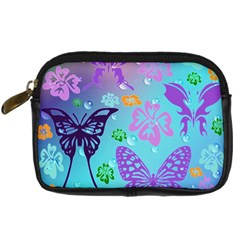 Butterfly Vector Background Digital Camera Cases by Amaryn4rt