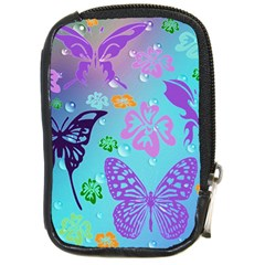 Butterfly Vector Background Compact Camera Cases by Amaryn4rt