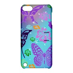 Butterfly Vector Background Apple Ipod Touch 5 Hardshell Case With Stand by Amaryn4rt