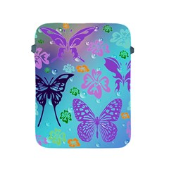 Butterfly Vector Background Apple Ipad 2/3/4 Protective Soft Cases by Amaryn4rt