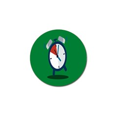 Alarm Clock Weker Time Red Blue Green Golf Ball Marker (10 Pack) by Alisyart