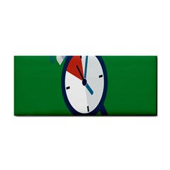 Alarm Clock Weker Time Red Blue Green Cosmetic Storage Cases by Alisyart