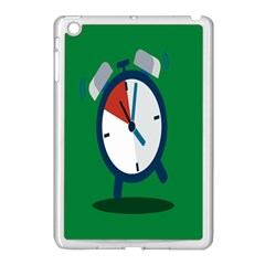 Alarm Clock Weker Time Red Blue Green Apple Ipad Mini Case (white) by Alisyart