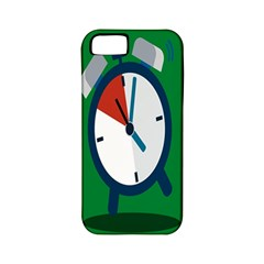 Alarm Clock Weker Time Red Blue Green Apple Iphone 5 Classic Hardshell Case (pc+silicone) by Alisyart