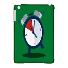 Alarm Clock Weker Time Red Blue Green Apple Ipad Mini Hardshell Case (compatible With Smart Cover) by Alisyart