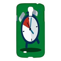Alarm Clock Weker Time Red Blue Green Samsung Galaxy S4 I9500/i9505 Hardshell Case by Alisyart